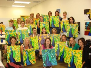 Lake Charles Paint Party Louisiana Art